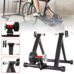 New              26-27.5 inch Wireless Indoor Aluminium Alloy Bike Roller Trainer Riding Platform Bike Holder Exercise Fitness Stand