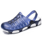 New              Men Lightweight Breathable Hollow Out Casual Beach Sandals