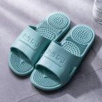 New              Women Massage Open Toe Home Bathroom Slippers