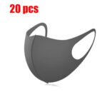 New              20 Pcs Children Safety Face Mask PM2.5 Sport Face Masks Kids Dustproof Anti-Fog Particulate Respirator Masks