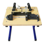 New              Mini Benchtop W012 Router Table with Stand Woodworking Table  Trimmer Router Table