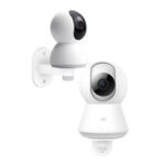 New              D804 Smart IP Camera Bracket Wall Mounted Hoisting 360°Rotation Holder 3M Glue Screws Flip/Side Mounting Bracket For Xiaomi Camera