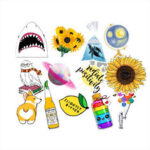 New              53X Fresh Summer Graffiti Stickers Trolley Case Car Computer Refrigerator Waterproof