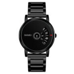 New              SKMEI 1260 Business Creative Watch Luxury Stainless Steel Strap Men Quartz Watch Wristwatch