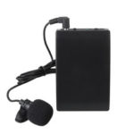 New              Mini Wireless Cordless Clip-on Lapel Tie Microphone Mic Transmitter Set for Teacher Lecturer Office Meeting