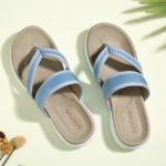 New              LOSTISY Women Flip Flop Stitching Soft Sole Slip On Casual Summer Flat Sandals