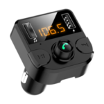 New              Bakeey LED Display Dual USB FM Transmitter bluetooth Hands-Free FM Modulator Car Charger for iPhone11 Pro Max  for Samsung S20 Xiaomi Redmi K30