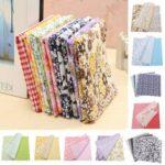 New              10″ x 10″ Bundle Lot of 7 Fat Quarters No Duplicates 100% Cotton Quilting Fabric