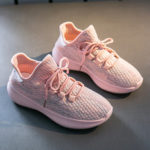 New              Women Casual Breathable Mesh Lace Up Non-slip Sneakers