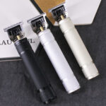 New              T9 Carving Push White Small Fader Oil Head Electric Clipper Rechargeable Electric Hair Clipper