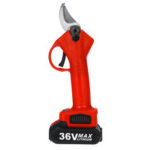 New              36V 25mm Cordless Electric Pruning Shears 13000mAh Rechargeable Branch Scissor Cutter with 1 Battery
