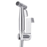 New              Bathroom Handheld Bidet Toilet Sprayer Cloth Diaper Stainless Steel Spray for Personal Hygiene