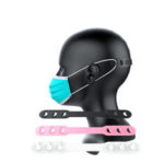New              Bakeey Colorful Third Gear Adjustable Anti-Slip Decompress Soft Silicone Face Mask Extension Hook Buckle Suitable to Adult Child