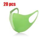 New              20 Pcs Cildren Safety Face Mask PM2.5 Sport Face Masks Kids Dustproof Anti-Fog Particulate Respirator Masks
