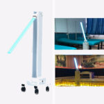 New              220V 50HZ 60W Professional UVC Disinfection Sterilizer Lamp Machines Movable With Fixture,UV Germicidal Light For Factory/School/Pet Store