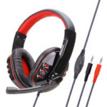 New              Soyto SY733MV PC 3.5mm Wired Game Headphone Bass Gaming Headset Stereo Headphones Earphone with Microphone for Computer PC Gamer