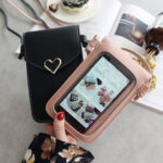 New              Women Fashion Phone Bag Touch Bag Shoulder Bag Crossbody Bag