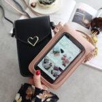 New              Women Fashion Phone Bag Touch Bag Shoulder Bag Crossbody Bag