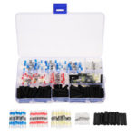 New              250Pcs Waterproof Solder Seal Heat Shrink Tube Sleeve Wire Butt Terminals Connectors