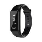New              Bakeey R5 Touch Screen Wristband Heart Rate Monitor Remote Camera Control Fitness Tracker Smart Watch