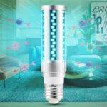 New              15W 20W E27 LED Bulb UV Sterilization Corn Lamp Household Disinfection Light AC85-265V