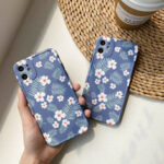 New              Fashion Ins Flower Pattern Shockproof TPU Protective Case for iPhone 11 / 11 Pro / 11 Pro Max / X / XS / XR / XS Max / 7 / 8 / 7 Plus / 8 Plus