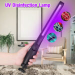New              DC5V UV Germicidal Lamp 360° USB Disinfection Hand-held Home Sterilization COB Light for Home