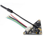 New              GEPRC GEP-VTX200-WHOOP Triangle 5.8GHz 48CH Pit/25/100/200mw Switchable IRC Tramp VTX FPV Transmitter PAL/NTSC for FPV RC Drone Tiny Whhoop