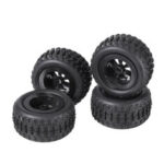 New              4PCS SINOHOBBY TR Q2 DIYQ1 1/28 Off-Road Tires Wheel V28-041Z RC Car Vehicles Spare Parts