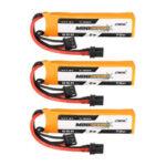 New              3PCS CNHL MINISTAR HV 7.6V 550mAh 70C 2S LiPo Battery With XT30U Plug for  FPV Racing Drone
