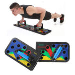 New              11 in 1 Removable Push Up Stand Board w/ Storage Bag Home Fitness Abdominal Muscle Training Sit-up Equipment