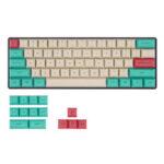 New              KBDfans 75/133 Keys Hawaii Theme Keycap Set DSA Profile PBT Sublimation Keycaps for 61/64/68/104/108 Keys Mechanical Keyboards