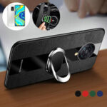 New              Bakee for Xiaomi Redmi Note 9S / Redmi Note 9 Pro / Redmi Note 9 Pro Max Case with Multifunctional Magnetic Ring Bracket Stand Shockproof Non-slip PU Leather Protective Case