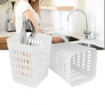 New              Hollow Storage Dishwasher Basket Cutlery Chopsticks Tray Fork Storage Cage