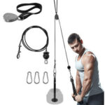 New              Pulley Arm Biceps Trainer Triceps Workout Weight Lifting Gym Strength Training Wrist Roller Home Exercise Tools
