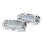 New              Car Door Warning Welcome Courtesy Light LED Lamp For VW Golf 5 6 7 Gti Mk5 Mk6 Mk7