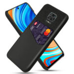 New              Bakeey for Xiaomi Redmi Note 9S / Redmi Note 9 Pro Case Luxury PU Leather + Cloth with Card Slot Shockproof Anti-scratch Protective Case