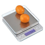 New              3kg/0.1g Electronic Kitchen Scale Digital Display Weighing Food Scale