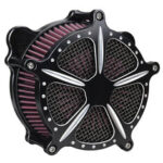 New              Chrome Air Cleaner Intake Filter System For Harley Dyna Softail Touring