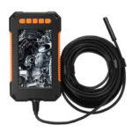 New              P40 Industrial Borescope Camera 1080P HD 4.3inch LCD Screen Borescope IP67 Waterproof Borescope 8mm 8 LED Lights 2600mAh Battery