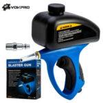 New              Handheld Pneumatic Anti-rust Sandblaster Protection Sand GravIity Sandblasting Guun Mini AIir Sandblaster Tools