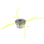 New              Universal Aluminum Grass Trimmer Head with 4 Lines Brush Cutter Head for Lawn Mower