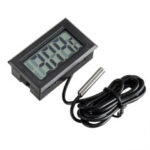 New              1 Meter Thermometer Electronic Digital Display FY10 Embedded Thermometer Indoor and Outdoor Temperature Measurement