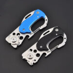 New              Multifunction Mini Pocket Folding KnIife Carabiner CS Go KnIives Hunting Military Weaponss Survival Tool For Man Women
