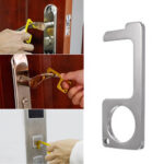 New              20Pcs Portable Press Elevator Tool Hands Free Door Opener Hygiene Hand Antimicrobial No Touch Contactless Handle Key
