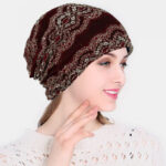 New              Lace Beanie Hat Chemotherapy Cap Neckerchief Hat