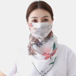 New              Summer Quick-drying Printing Neck Mask Sunscreen Scarf Outdoor Riding Face Mask Breathable
