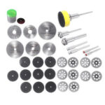 New              Drillpro 63pcs Diamond Cutting Disc Grinding Wheel Circular Saw Blade for Rotary Tool Wood Cutting Disc