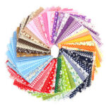 New              56Pcs Cotton Cloth Fabric Sewing Patchwork DIY Clothing Craft Quilting