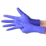 New              DIGOO 100PCS Disposable Nitrile Protective Gloves No Powder & No Latex & Puncture Resistance & Tear Resistance Glove
